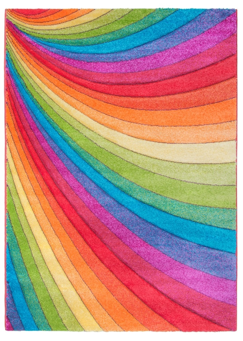 Candy Rainbow Modern Rug